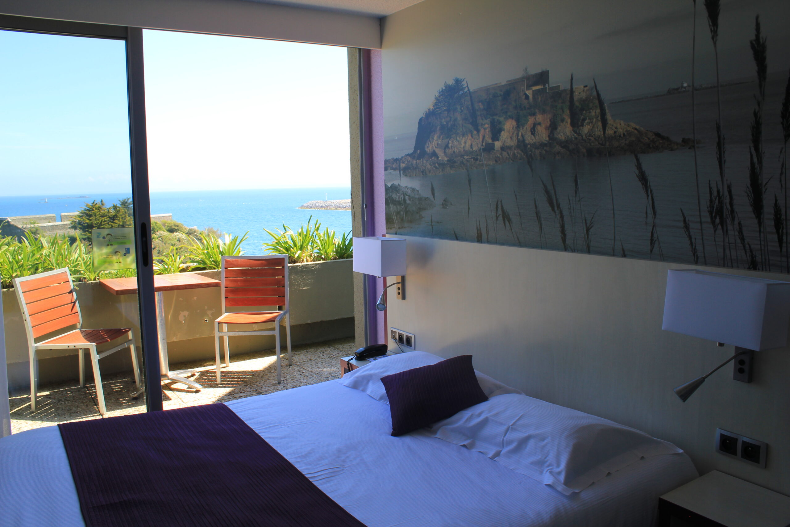 Room Terrace Sea View Hotel Ker Moor Saint Quay Portrieux